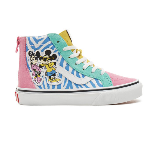 Kids Disney x Vans Sk8-Hi Zip Shoes (5+ years) | Vans