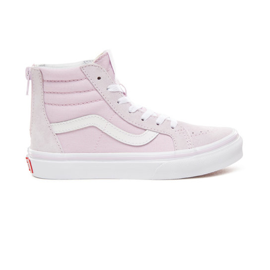 Kids Sk8 Hi Zip Shoes (4 8 years)