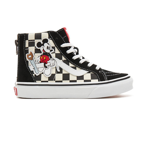 Kids+Disney+x+Vans+Sk8-Hi+Zip+Shoes+%285%2B+years%29