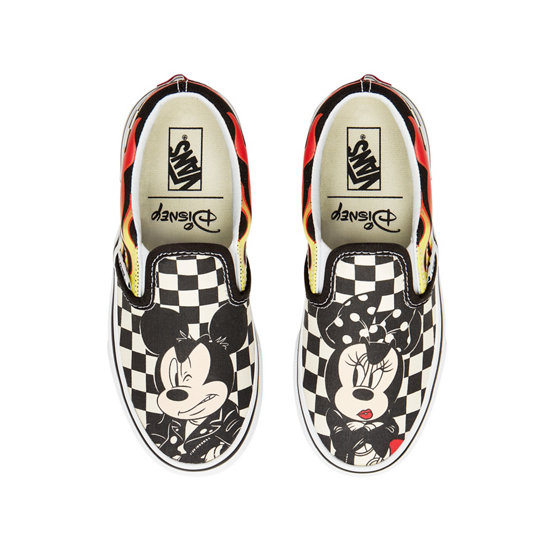 Kids Disney x Vans Classic Slip-On Shoes (4-8 years) | Vans