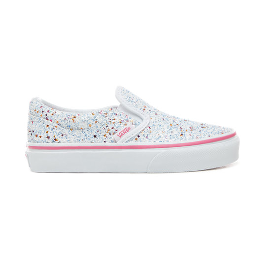 Kids Glitter Stars Slip-On  Shoes (5+ years) | Vans