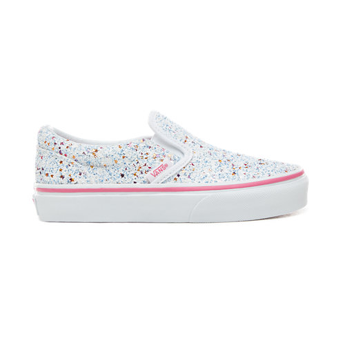 Kids+Glitter+Stars+Slip-On++Shoes+%285%2B+years%29