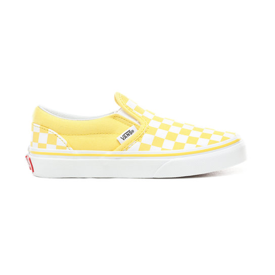 Kids Checkerboard Slip-On Shoes (4-8 years) | Vans