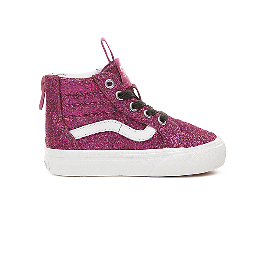 Toddler+Glitter+Sk8-Hi+Zip+Shoes+%280-3+years%29