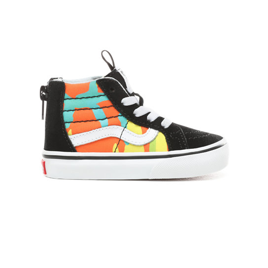 Toddler Pop Camo Sk8-Hi Zip Shoes (1-4 years) | Vans
