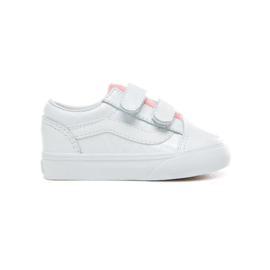 Toddler White Giraffe Old Skool V Shoes (1-4 years) | Vans
