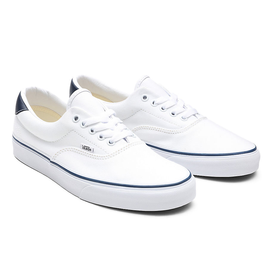 Chaussures C&l Era 59 ((c&l) True White/dress Blues) , Taille 34.5 - Vans - Modalova