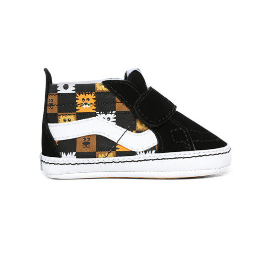 Chaussures Bébé Animal Checkerboard Sk8-Hi Crib (0-1 an) | Vans