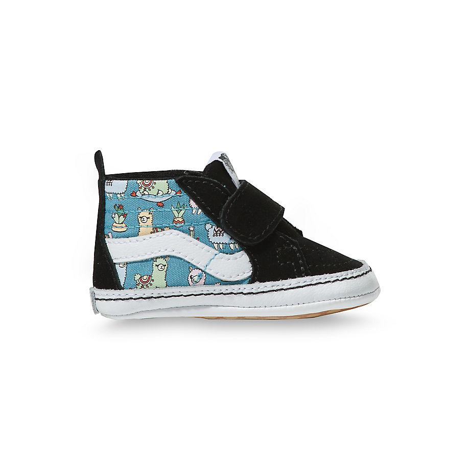 Chaussures Llamas Sk8-hi Crib Nouveau-né (0-1 An) ((llamas) Orchid/true White) Infant , Taille 16 - Vans - Modalova