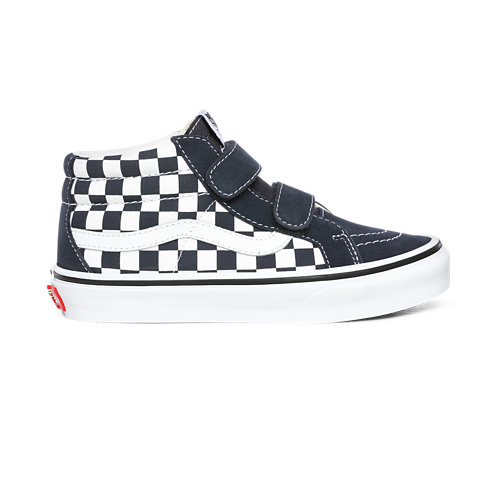 Kids+Checkerboard+Sk8-Mid+Reissue+V+Shoes+%284-8+years%29