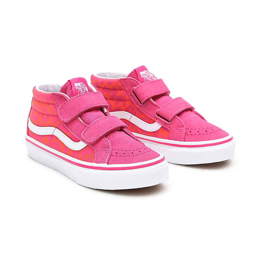 Chaussures Neon Animal Sk8-mid Reissue V Enfant (4-8 Ans) ((neon Animal) Leopard/pink) Enfant , Taille 31.5 - Vans - Modalova