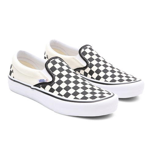 Checkerboard++Slip-On+Pro+Shoes