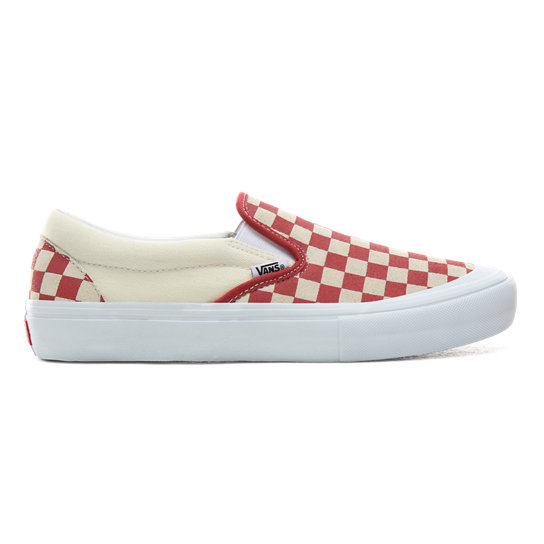 Zapatillas sin cordones Checkerboard Slip-On Pro | Vans