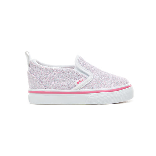 88fc2da5a15 Toddler+Glitter+Stars+Slip-On+V+Shoes+%281-