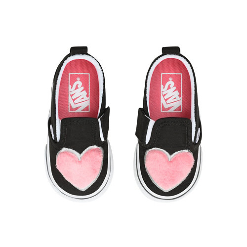 Toddler+Fur+Heart+Slip-On+V+Shoes+%281-4+years%29