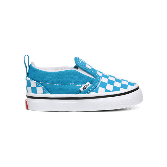 Toddler Checkerboard Slip-On V Shoes (1-4 years) | Vans