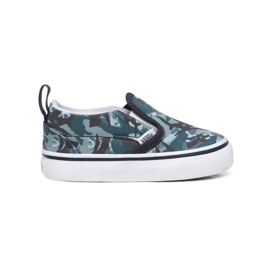 Scarpine Bimbo Animal Camo Slip-On (1-4 anni) | Vans