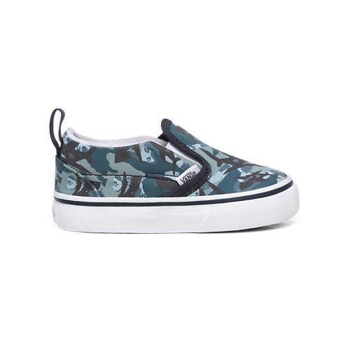 Scarpine+Bimbo+Animal+Camo+Slip-On+%281-4+anni%29
