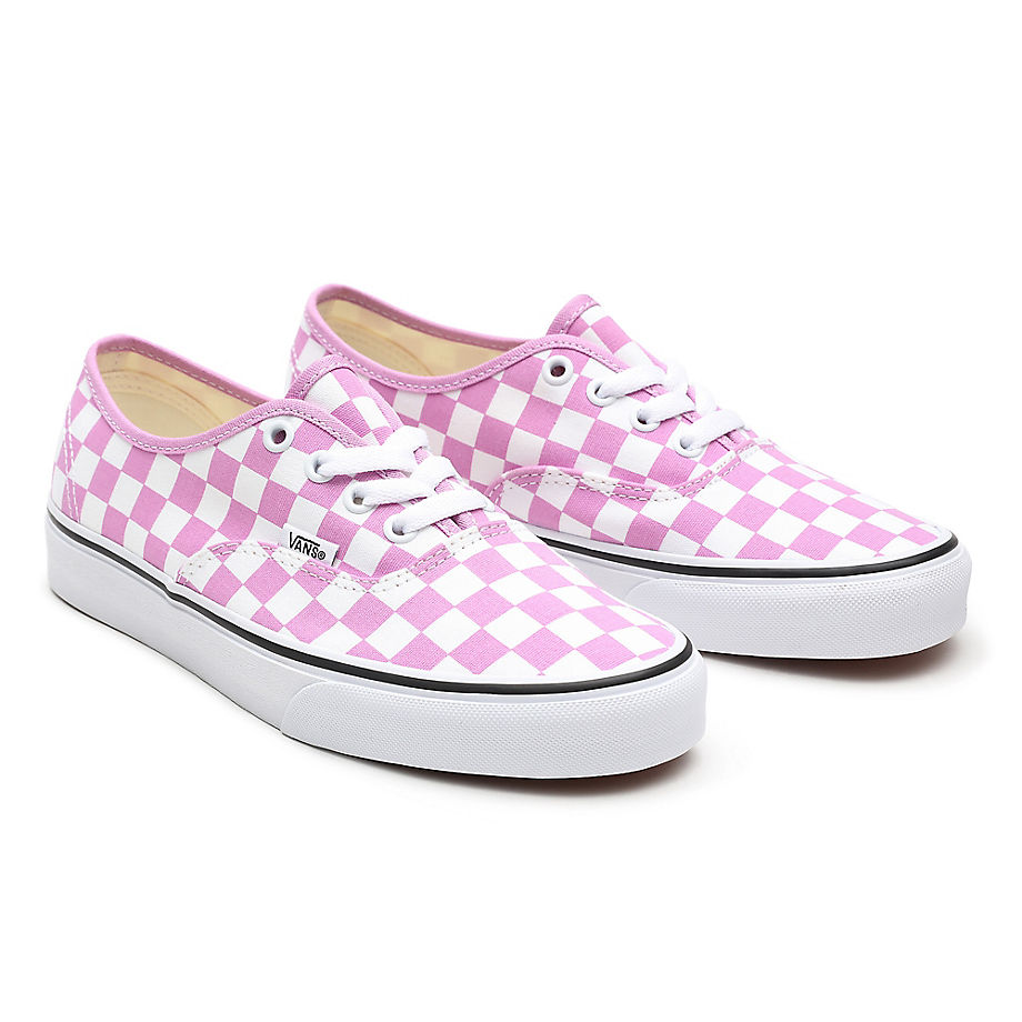 Chaussures Checkerboard Authentic ((checkerboard) Orchid/true White) , Taille 34.5 - Vans - Modalova