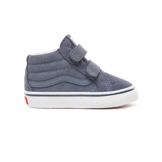 Toddler Checkerboard Sk8-Mid Reissue V Shoes (1-4 years) | Vans