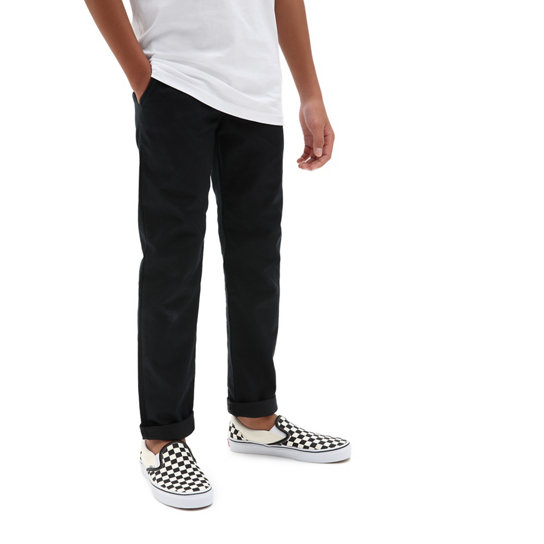 Kids Authentic Chino Stretch Trousers (8-14+ years) | Vans