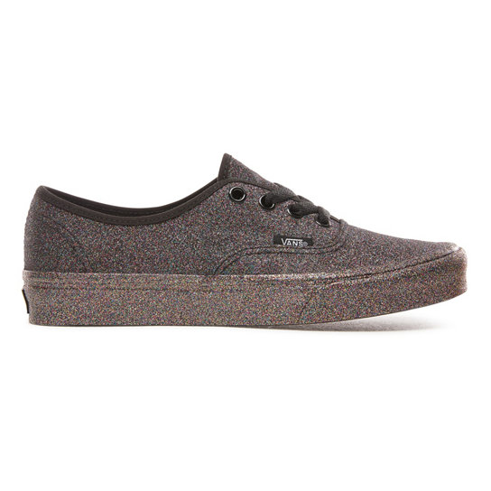 Rainbow Glitter Authentic Shoes | Vans