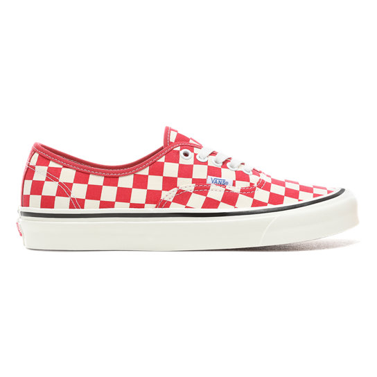 vans checkerboard rosse