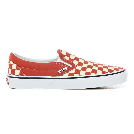 Checkerboard Classic Slip-On Shoes | Vans