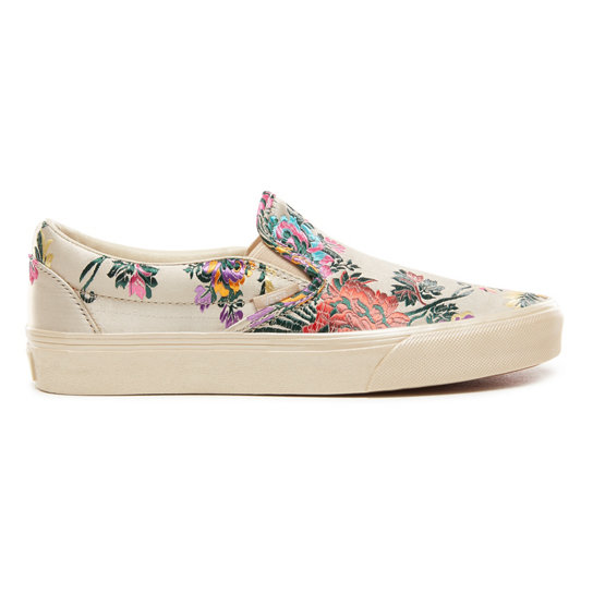 Festival Satin Classic Slip-On Shoes | Vans
