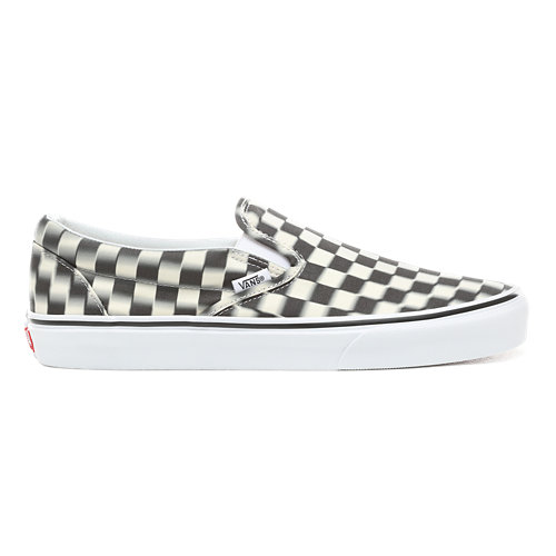 Scarpe+Blur+Check+Slip-On
