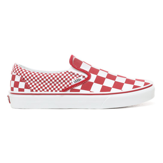 Mix Checker Slip-On Schuhe