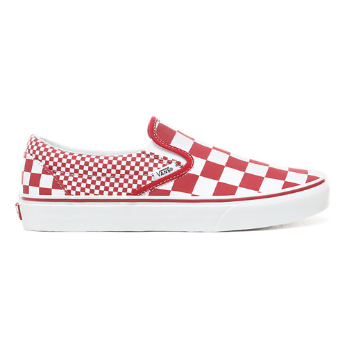 Scarpe+Mix+Checker+Slip-On