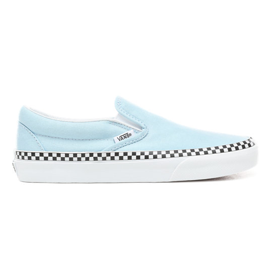 Bon Achat Vans Suede and Sherpa Classic Slip on Sky Captain