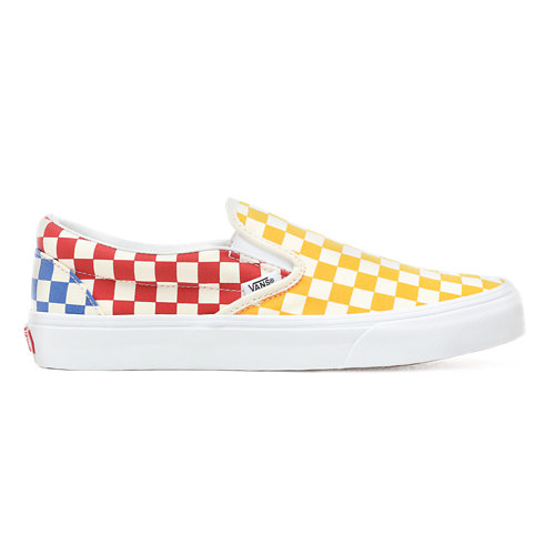Checkerboard+Slip-On+Shoes