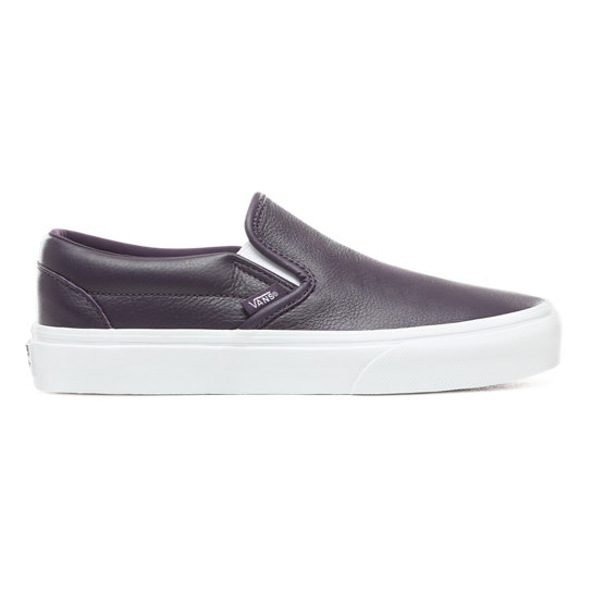 Leather Classic Slip-On Shoes | Vans