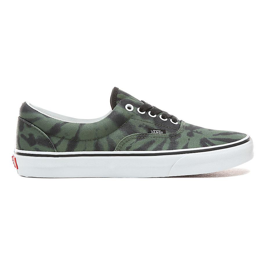 zapatillas vans hombres verdes