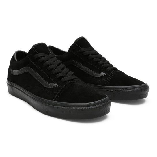 Suede Old Skool Shoes | Black | Vans