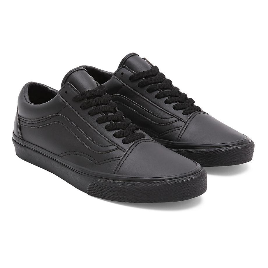 Vans  OLD SKOOL  women's Shoes (Trainers) in Black - VN0A38G1PXP1