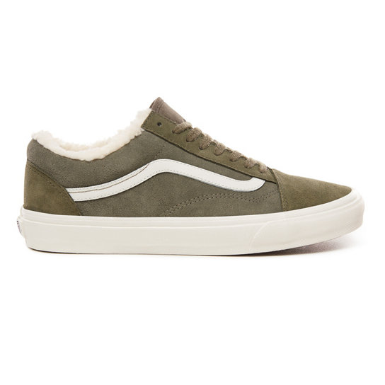a6523f2de79 Suede and Sherpa Old Skool Shoes