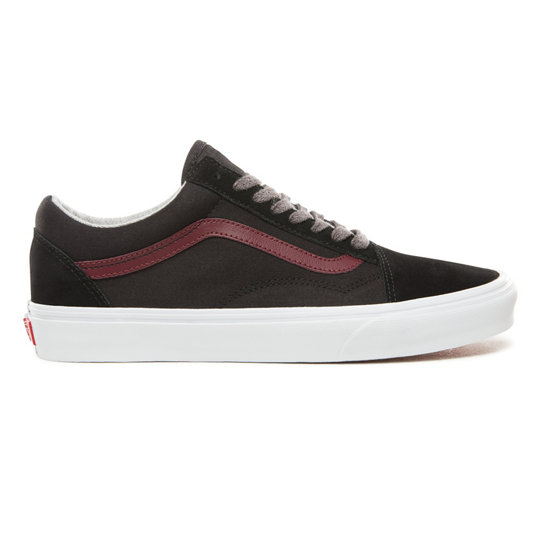 4526cb1278 Jersey Lace Old Skool Shoes