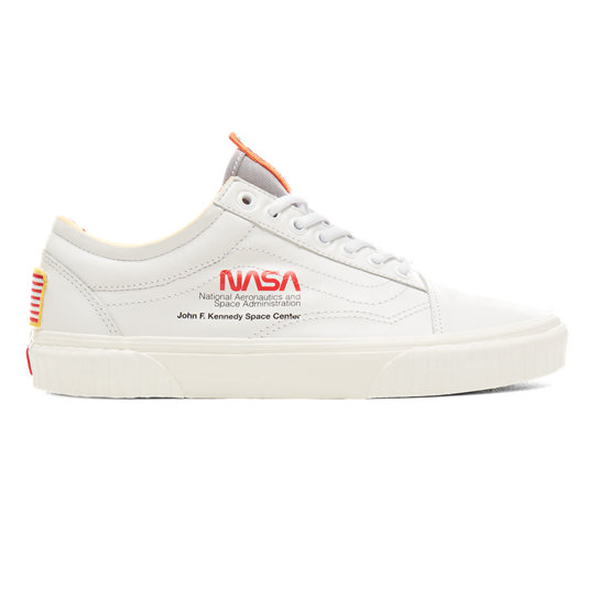 vans x nasa white old skool