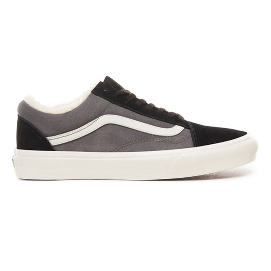 vans old skool in pelle scamosciata