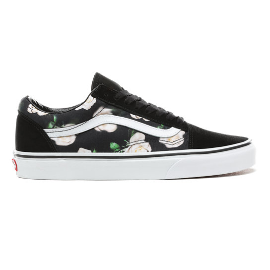 3ddc98310 Romantic Floral Old Skool Shoes | Black | Vans