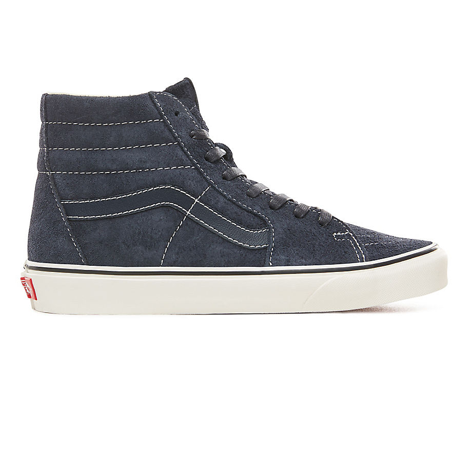 95ba506ac325ac VANS Hairy Suede Sk8-hi Shoes ((hairy Suede) Sky Captain snow White) Men  Blue - £80.00 - Bullring   Grand Central