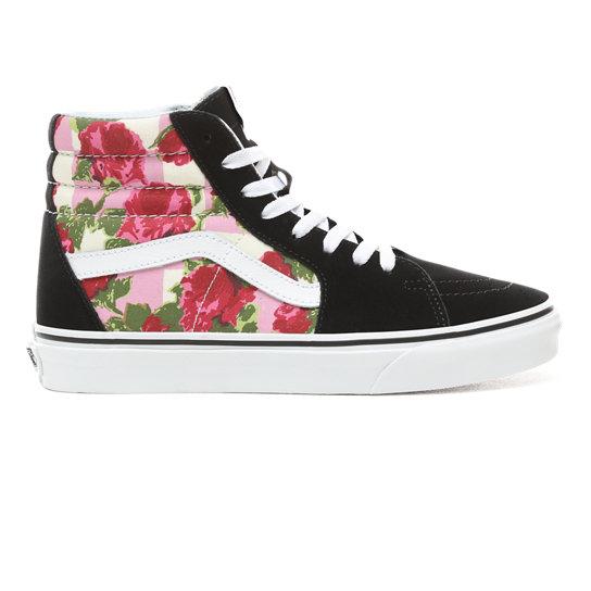 8cdf5a0f197a Romantic Floral Sk8-Hi Shoes | Black | Vans