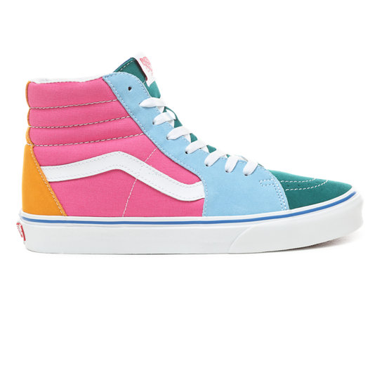 Suede and Canvas Sk8-Hi Shoes | Vans
