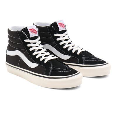 Vans Mid Skool 37 DX Anaheim Factory Black White Soldes