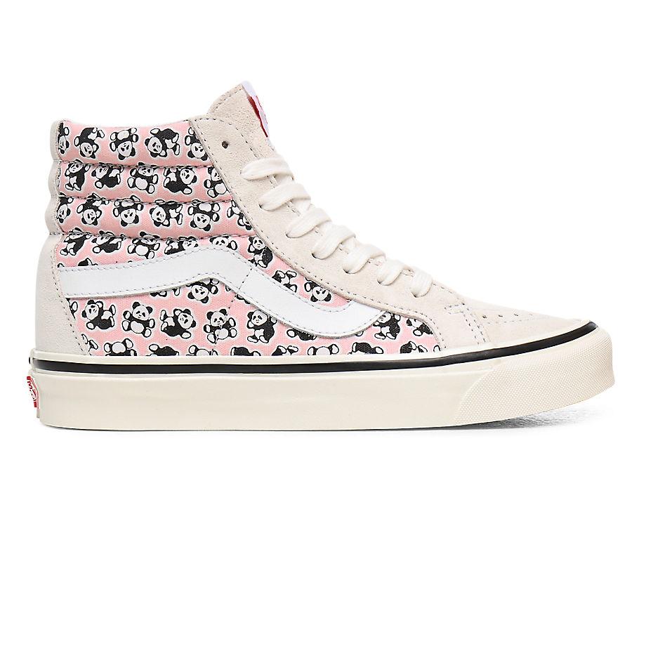 Chaussures Anaheim Factory Sk8-hi 38 Dx ((anaheim Factory) Og Pandas/og White/og Pink) , Taille 34.5 - Vans - Modalova
