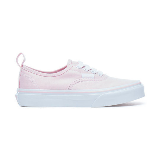 0ae16ff8a5e Kids Authentic Elastic Lace Shoes | Pink | Vans