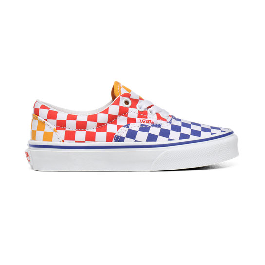 Kids Tri Checkerboard Era Shoes (4 8 years)